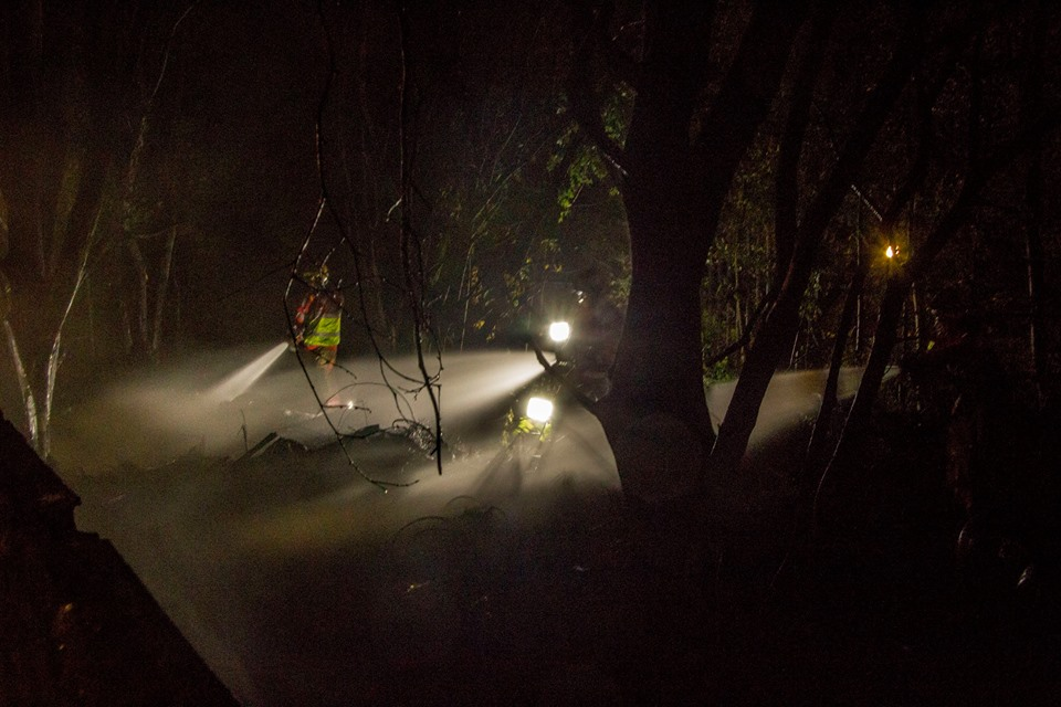 Firefighters through the smoke on Duchy Road - Sidshots Photography
