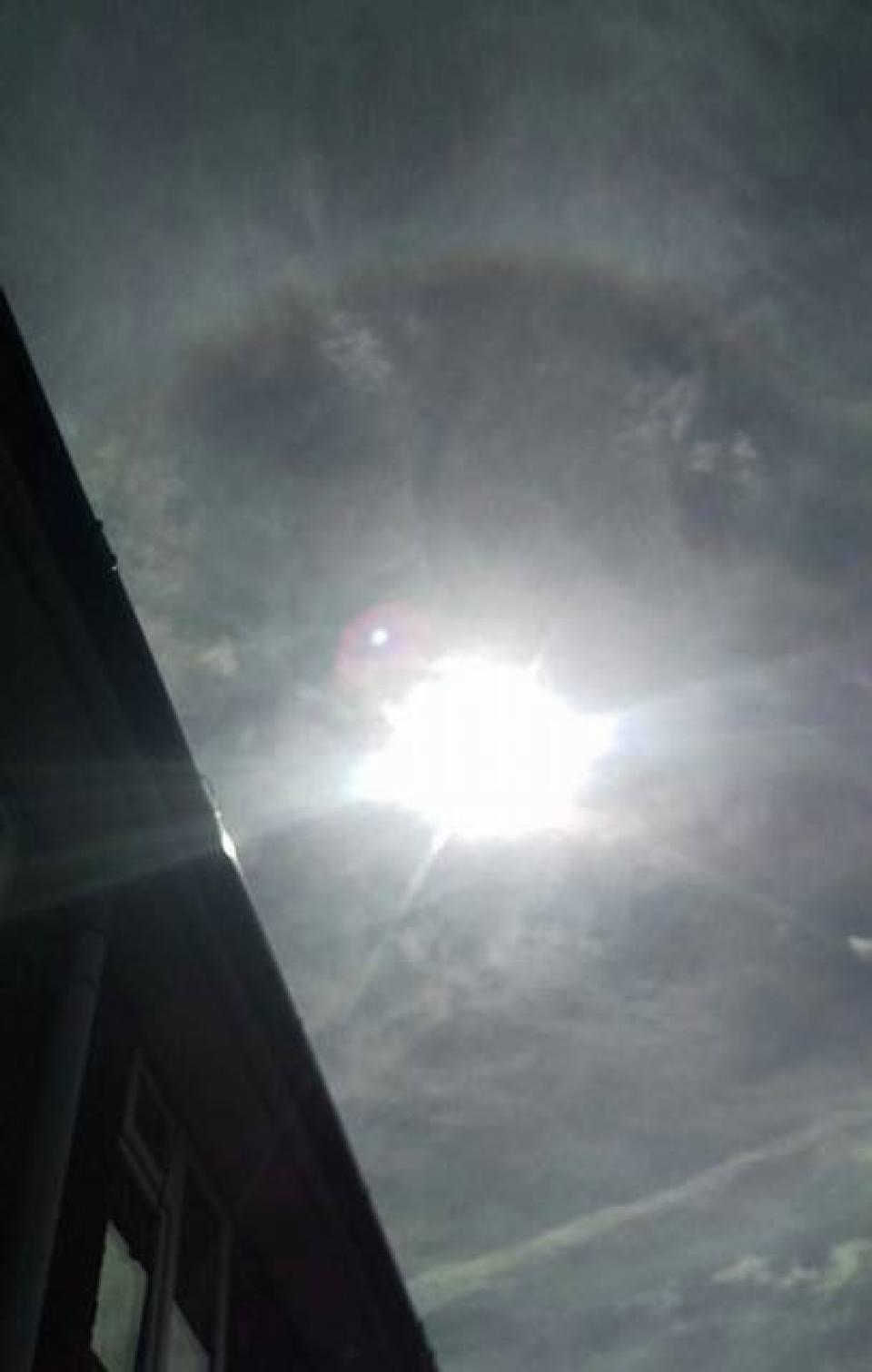 Halo sun rainbow effect - Adam Davies, Walkden