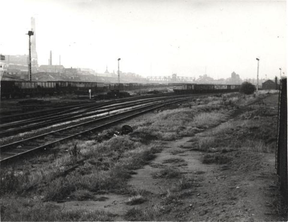 Irwell Park Wharf railway sidings - SLHL