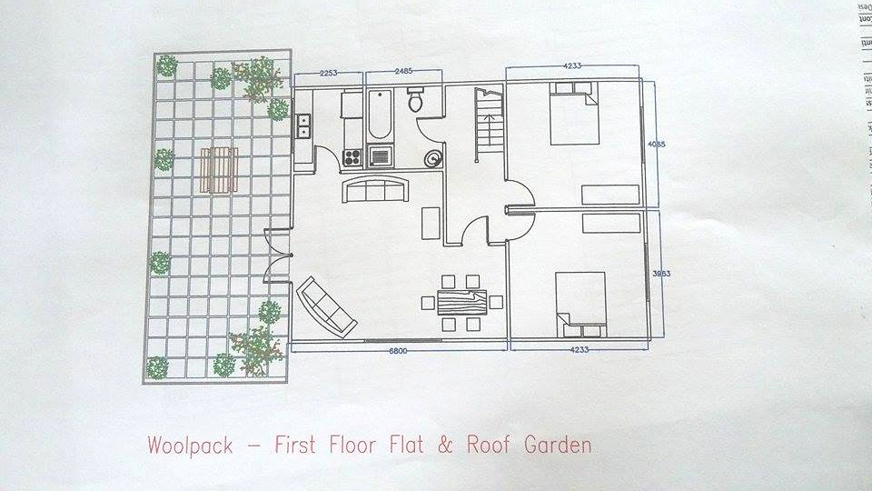 The winning plans would have featured a roof garden