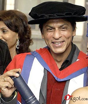 ShahrukhKhan doctarate photo stills
