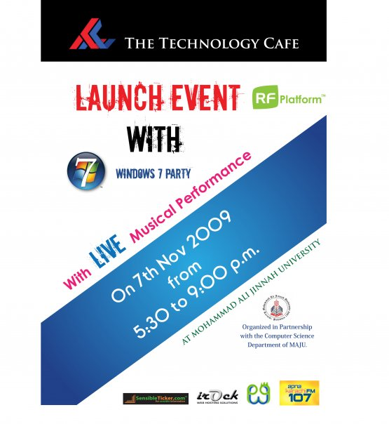 The Technology Cafe Launch and Windows 7 Party