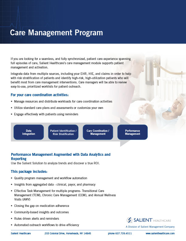 Care Management Offering