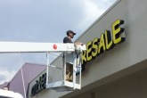 Building Sign Installation in Detroit MI