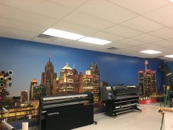 wall graphics in Oak Park MI