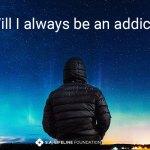 the label of addict