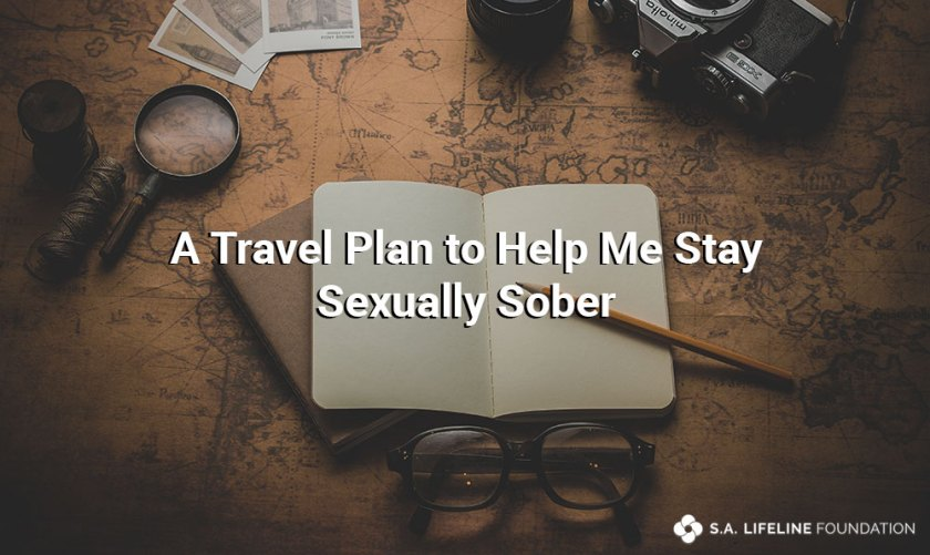 travel plan to stay sexually sober