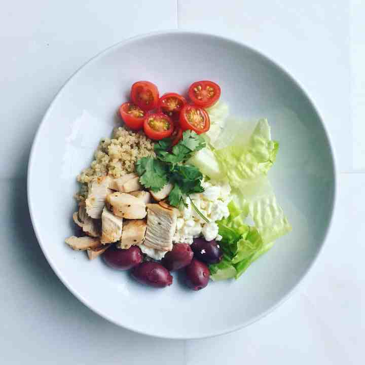 Weekly Meal Prep: Greek Salad Inspired Quinoa Bowls
