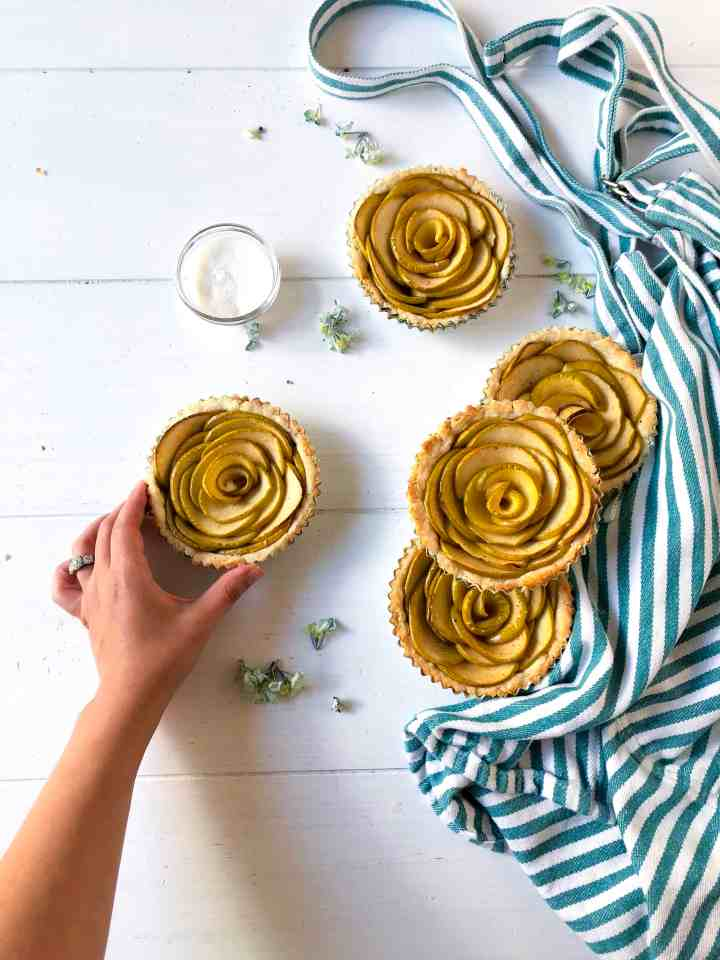Rose Apple Tarts: Perfect Fall Dessert
