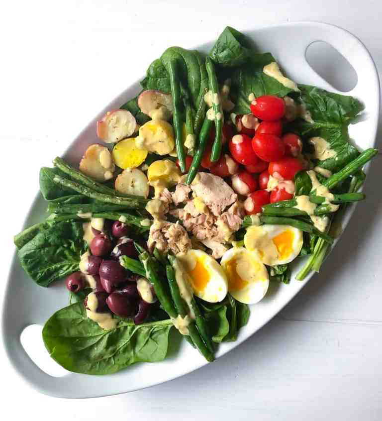 Niçoise Salade with Lemon Garlic Dressing