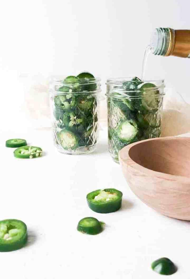Quick Pickled Jalapeños