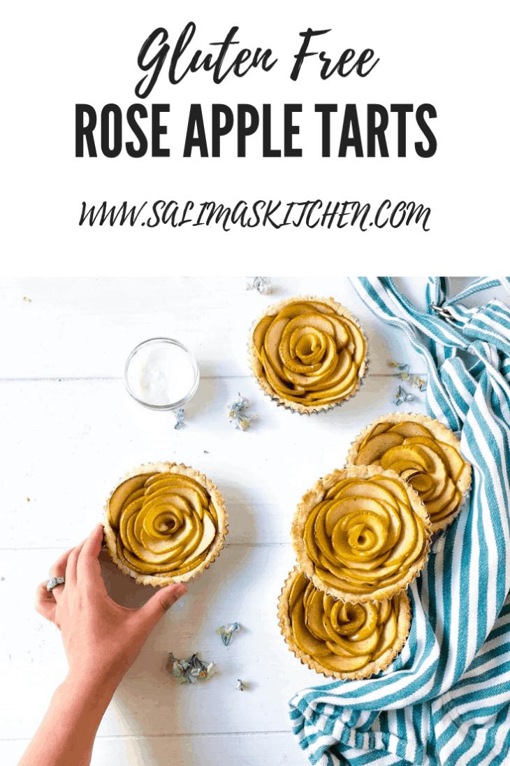 Gluten Free Rose Apple Tarts