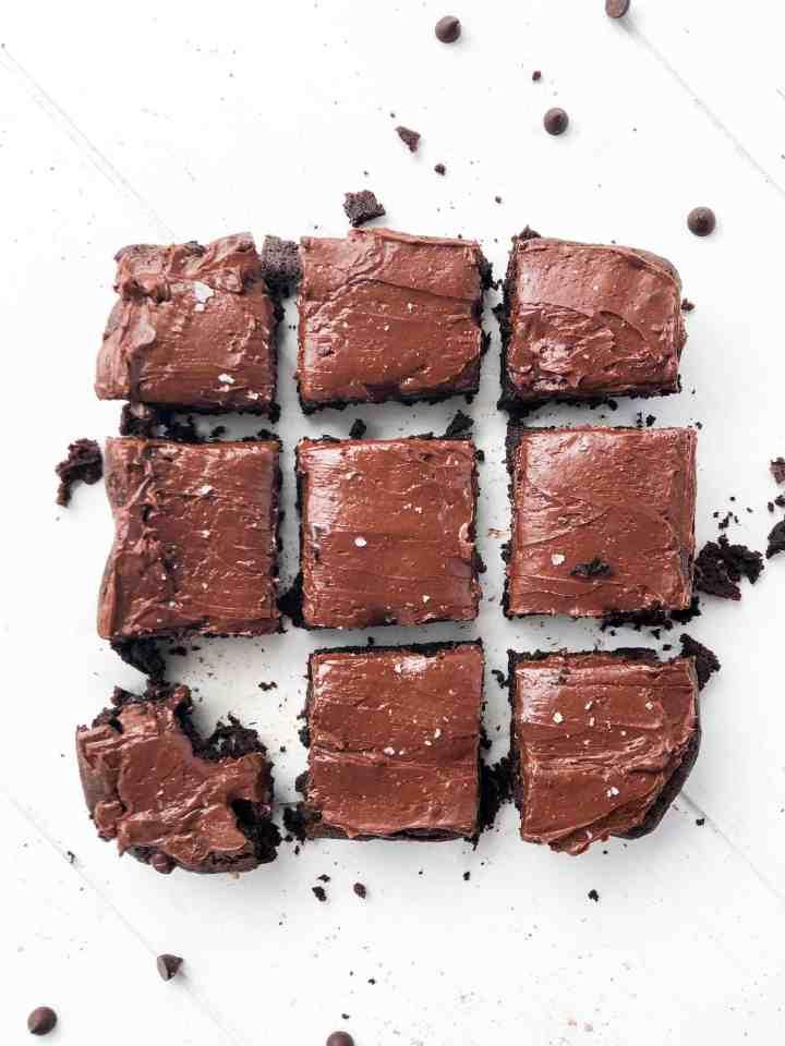 Gluten Free Triple Chocolate Brownies