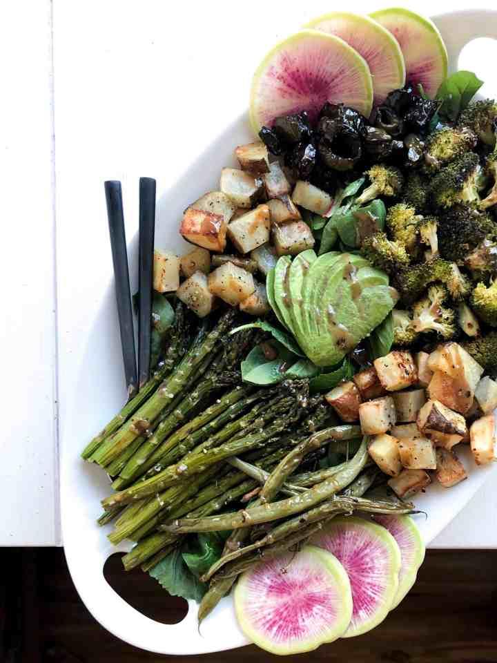 Vegan Summer Harvest Salad