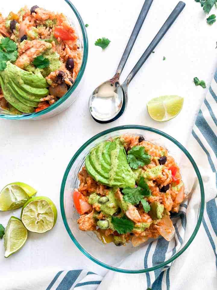 Instant Pot Spanish Rice & Beans