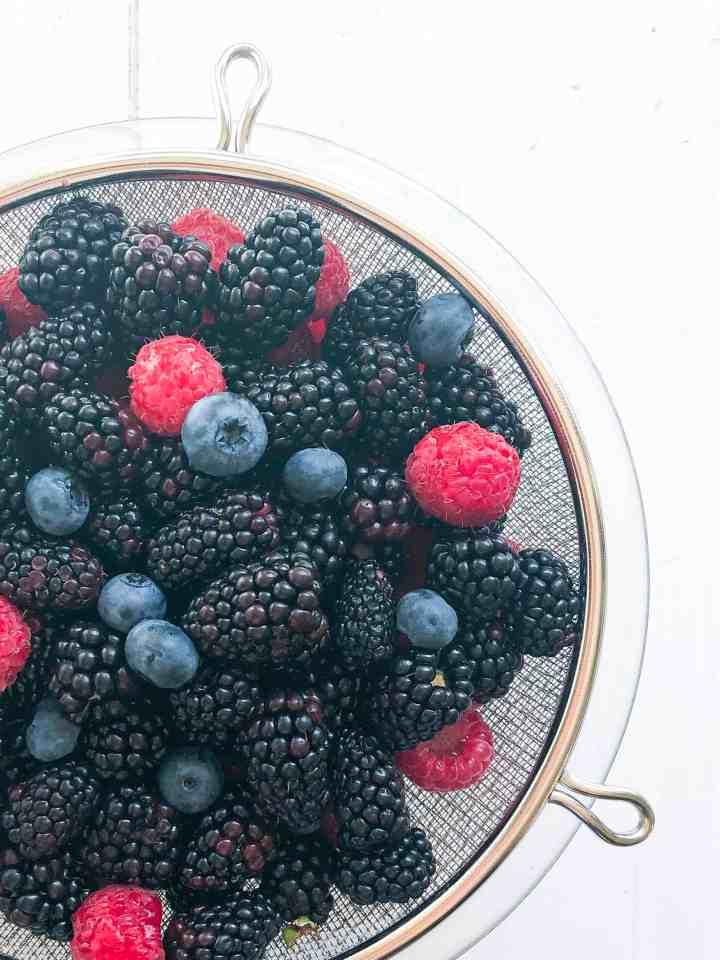 Gluten Free Berry Crumble