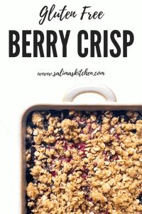 Gluten Free Berry Crisp