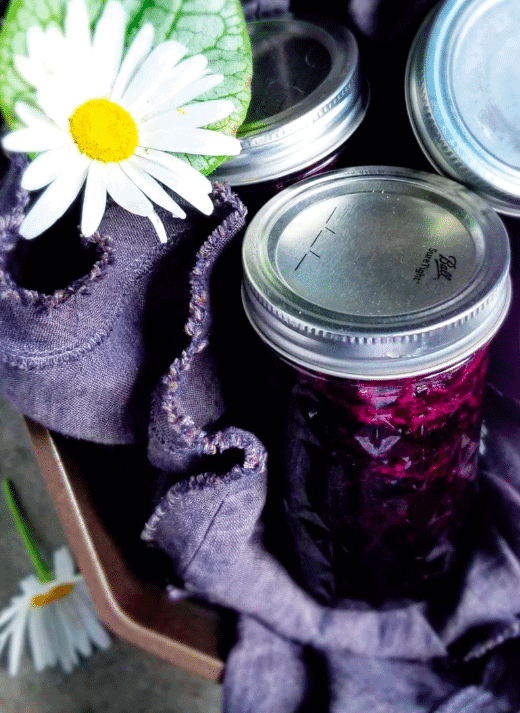 Homemade jam from Chez LaRae.