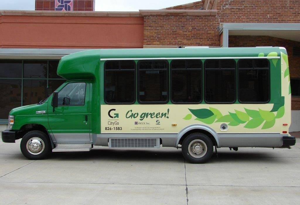 Salina CityGo Fixed Route Bus