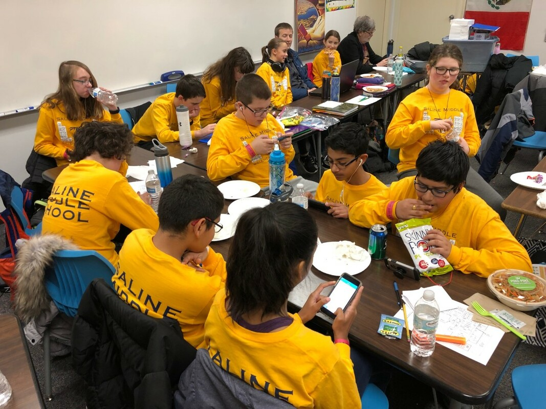 Saline Middle School Science Olympiad Scioly