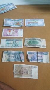 Billetes de Kyats