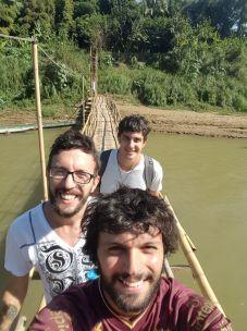 Selfie con los pibes