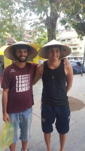 Vietnamitas en Hanoi