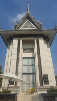 Estupa en Choung Ek