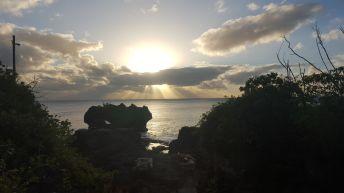 Atardecer en Niue