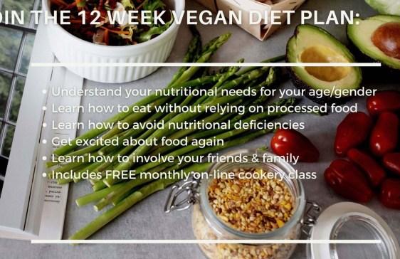 12 Week Vegan Diet Plan