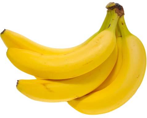 Bananas are a rich source of potassium