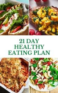 21 Da yHealthy Eating Plan