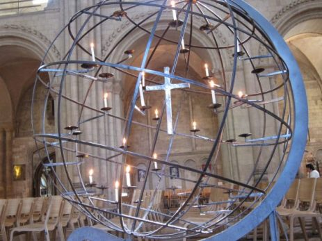 prayer candle globe 2, Norwich Cathedral, UK - Ana Gobledale
