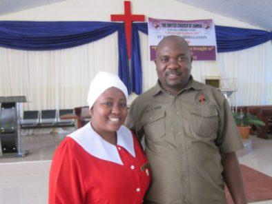 Zambia Godfrey and Ruth Gama