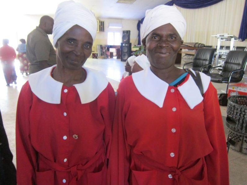 Zambia WCF members