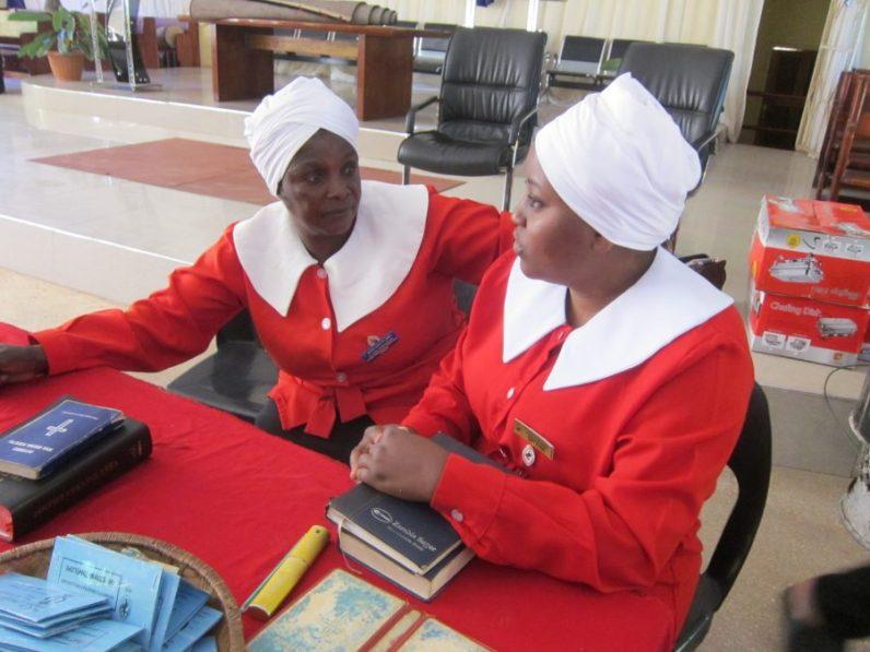 Zambia WCF St Johns leaders