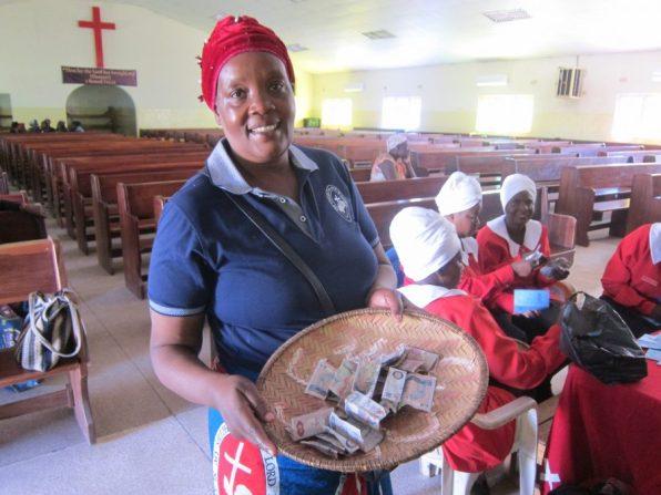 Zambia - St John's WCF treasurer
