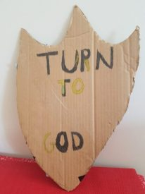 Turn to God shield -- Ryan Fai