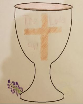 Communion chalice - by Ashley