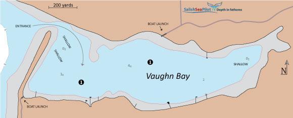 Vaughn Bay chartlet