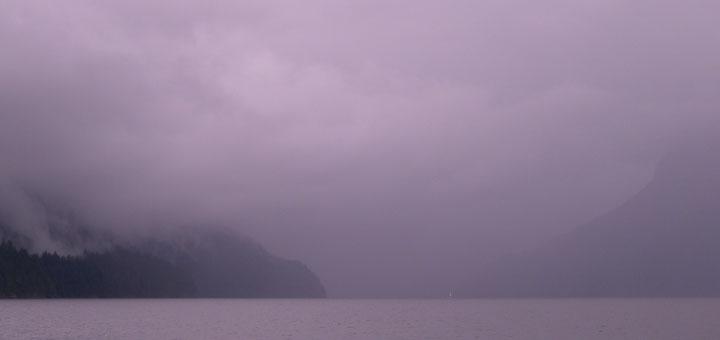 Jervis Inlet gloom