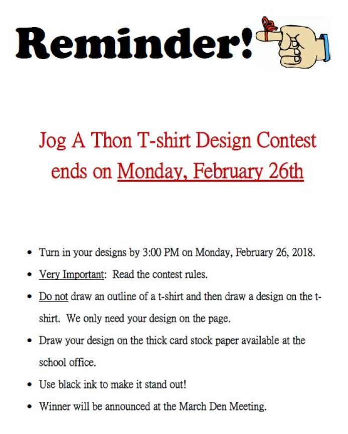 JAT - Tshirt Design Contest LAST REMINDER