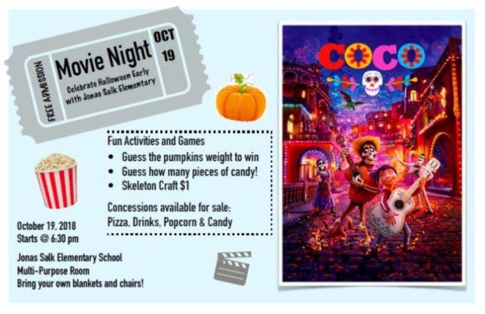 2018.10.19 - JSES Movie Night flyer2