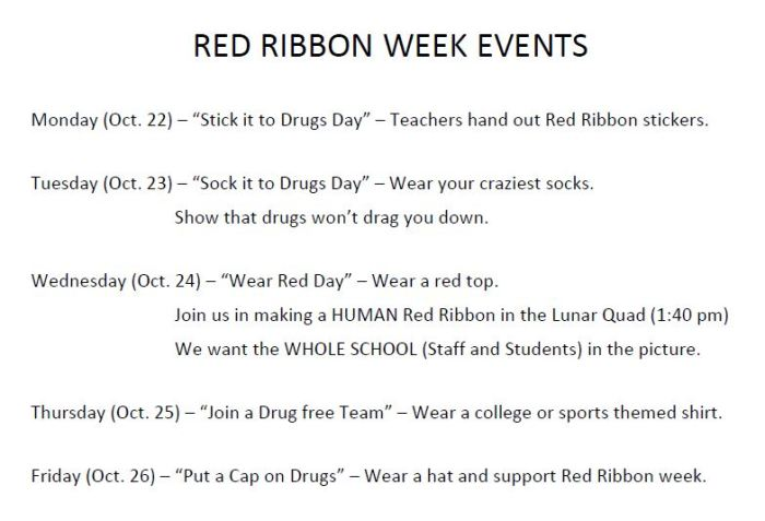 2018.10.22 to 2018.10.26 - RED_RIBBON_WEEK_EVENTS
