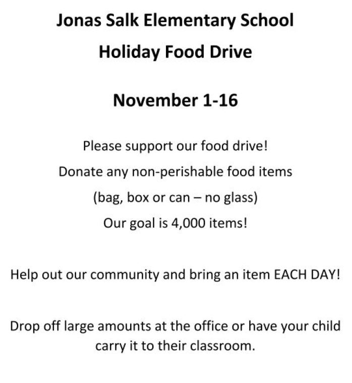 2018.11.01 to 2018.11.16 - Fall_Food_Drive
