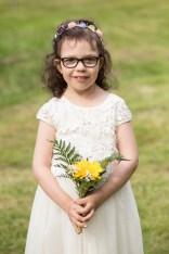 Vackra dotter Minna, brudnäbb.