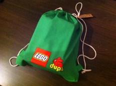 LEGO duplo-väskan.