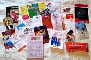 Barn i Stan-goodiebag med information och erbjudanden!