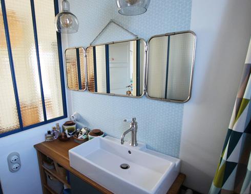 salle de bain rétro rennes