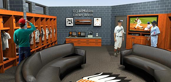 Baseball Locker Room Design